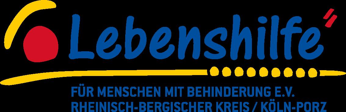 Logo Lebenshilfe für Menschen mit Behinderung e.V. Rheinisch-Bergischer Kreis/ Köln-Porz