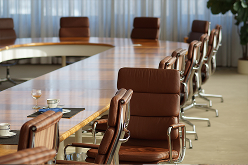 Symbolbild: Konferenztisch