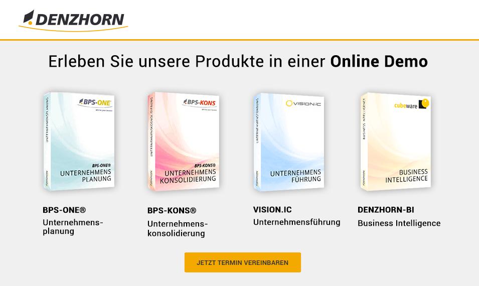 Denzhorn Online Demo anfordern